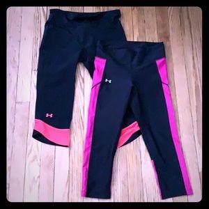 MAKE AN OFFER! Set of 2 Under Armour leggings